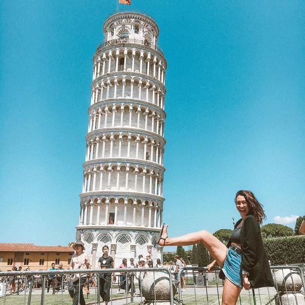 """""""Ngả nghiêng cùng năm tháng"""" siêu nổi tiếng ở nước Ý, hóa ra vào mùa hè trông tháp Pisa lại """"thẳng thớm"""" hơn? - Ảnh 9."""
