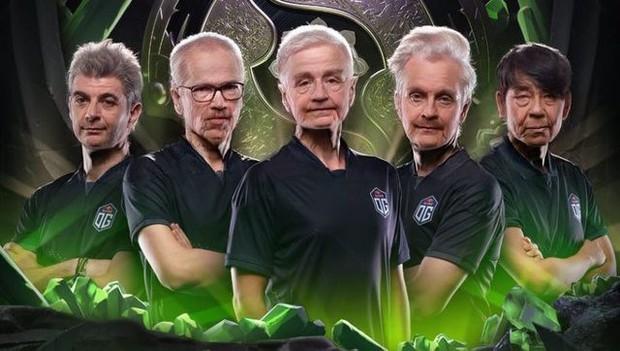 Không thể nhịn cười với trào lưu chế ảnh sau 50 năm của cộng đồng Dota 2 cho những đội tuyển tham dự TI9 - Ảnh 6.