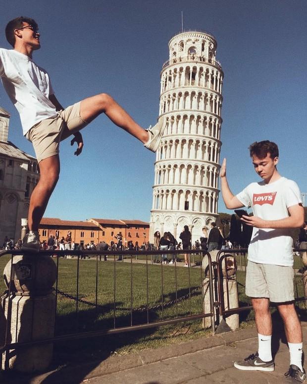 """""""Ngả nghiêng cùng năm tháng"""" siêu nổi tiếng ở nước Ý, hóa ra vào mùa hè trông tháp Pisa lại """"thẳng thớm"""" hơn? - Ảnh 8."""