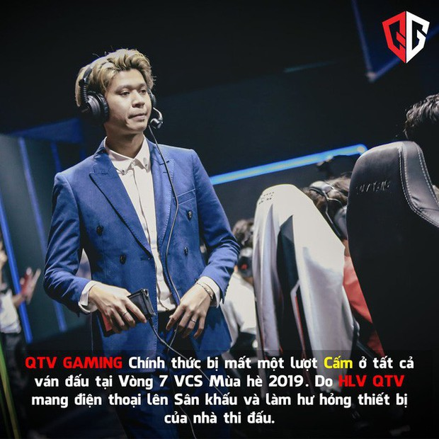 LMHT: Không hổ danh Quả Tạ Vàng, Vũ ca làm HLV rồi vẫn khiến QTV Gaming gánh án phạt vì lỗi khó đỡ - Ảnh 1.
