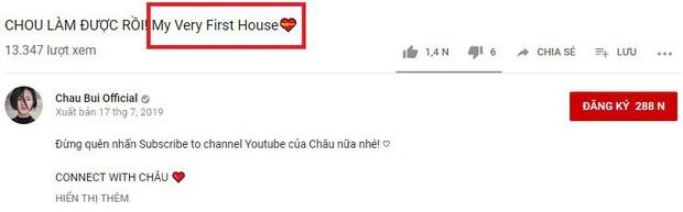 Châu Bùi háo hức đăng video khoe nhà mới mua đến nỗi sai ngay lỗi ngữ pháp Tiếng Anh cơ bản nhất - Ảnh 2.