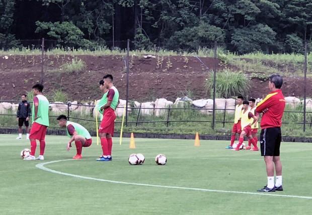 ĐT U18 Việt Nam tập trung cao độ ngay buổi đầu tập luyện tại Gotemba (Nhật Bản) - Ảnh 11.