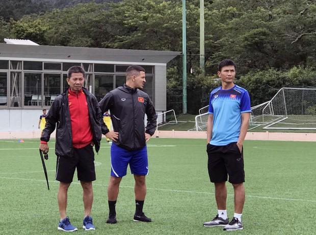 ĐT U18 Việt Nam tập trung cao độ ngay buổi đầu tập luyện tại Gotemba (Nhật Bản) - Ảnh 12.