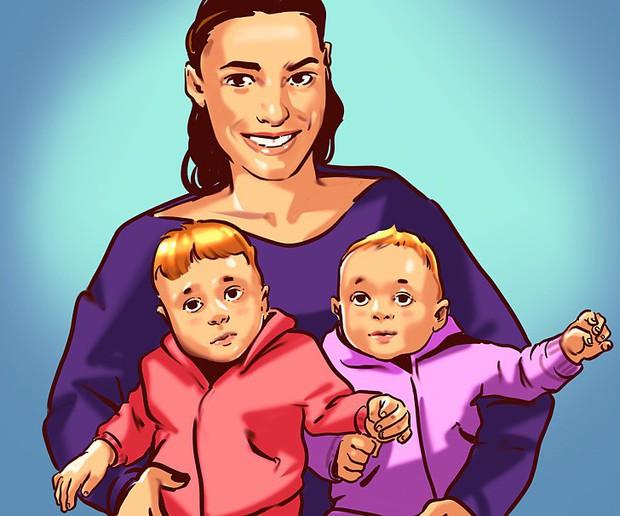 Liệu phụ nữ có thể tiếp tục thụ thai khi đang mang bầu? Khoa học bảo đúng, và có đến 10 trường hợp như thế - Ảnh 3.
