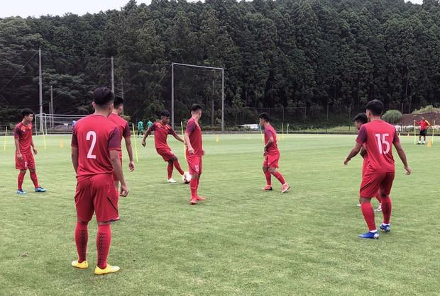 ĐT U18 Việt Nam tập trung cao độ ngay buổi đầu tập luyện tại Gotemba (Nhật Bản) - Ảnh 6.