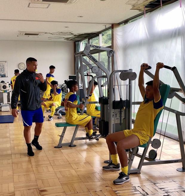 ĐT U18 Việt Nam tập trung cao độ ngay buổi đầu tập luyện tại Gotemba (Nhật Bản) - Ảnh 8.