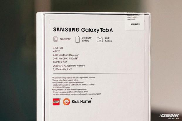 """Mở hộp Galaxy Tab A 8.0 mới: Một mình một cõi """"điện thoại bảng"""", ngoài màn hình lớn ra còn gì hay không? - Ảnh 8."""