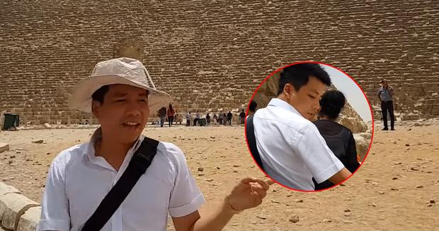 """Hot: Khoa Pug tiếp tục mất tiền oan tới 3 lần khi chạm mặt """"bậc thầy lừa đảo"""" ở Tượng Nhân Sư Ai Cập - Ảnh 1."""