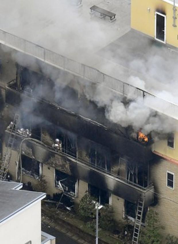 Đám cháy khốc liệt tước mạng sống hàng loạt họa sĩ anime thiên tài tại Nhật Bản - Ảnh 1.