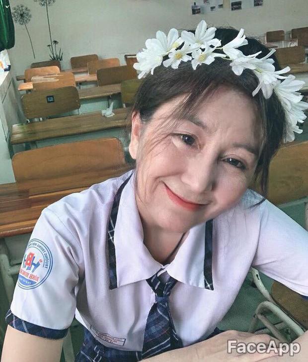 Xuyên không đến tương lai gặp Châu Bùi mặt lộ đầy nếp nhăn, Quỳnh Anh Shyn trở thành bà lão - Ảnh 5.