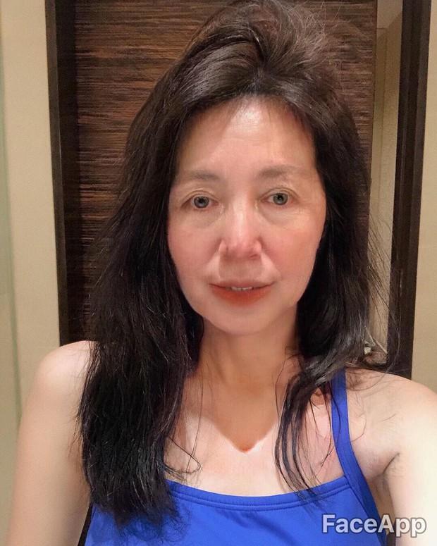 Xuyên không đến tương lai gặp Châu Bùi mặt lộ đầy nếp nhăn, Quỳnh Anh Shyn trở thành bà lão - Ảnh 7.