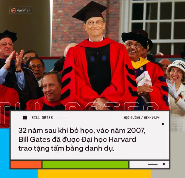 Người trẻ đua nhau bỏ học Đại học để thành tỷ phú như Bill Gates nhưng có 8 sự thật về việc học của ông không phải ai cũng biết - Ảnh 8.