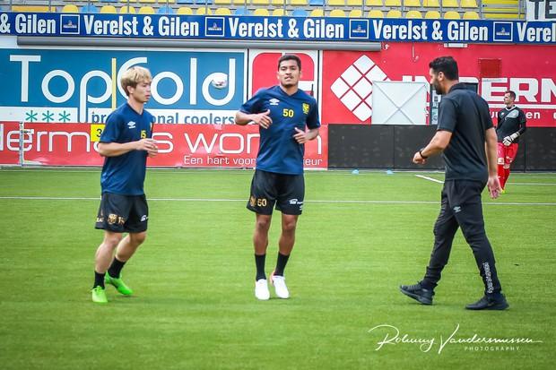 Công Phượng lần đầu được đá chính ở Bỉ, Sint-Truidense V.V để thua sát nút trước đội hạng dưới - Ảnh 3.