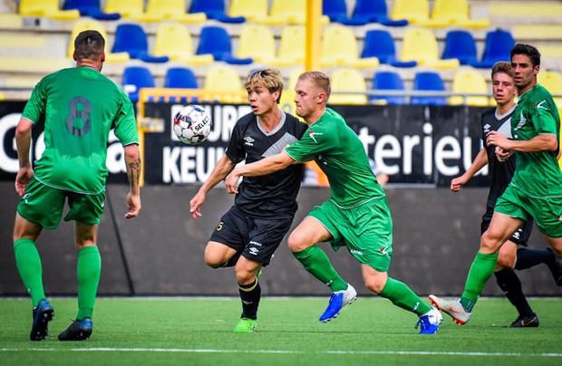 Công Phượng lần đầu được đá chính ở Bỉ, Sint-Truidense V.V để thua sát nút trước đội hạng dưới - Ảnh 4.