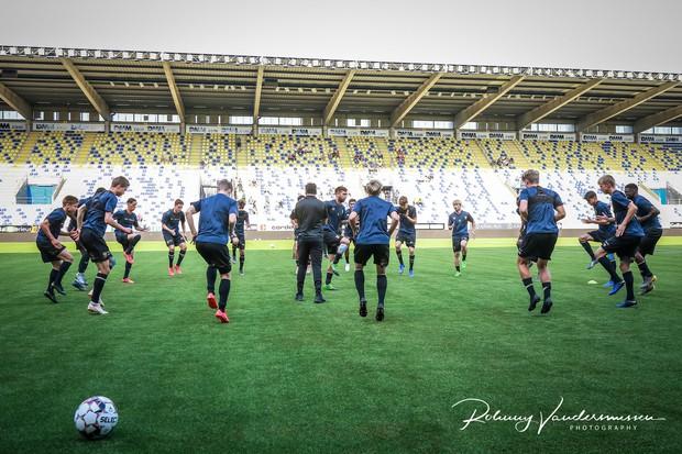 Công Phượng lần đầu được đá chính ở Bỉ, Sint-Truidense V.V để thua sát nút trước đội hạng dưới - Ảnh 1.