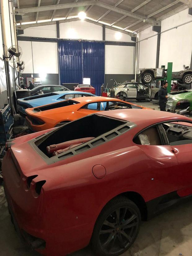 Đột nhập xưởng làm siêu xe fake: Lamborghini chục tỉ bán với giá rẻ như cho, xịn sò như thật - Ảnh 2.