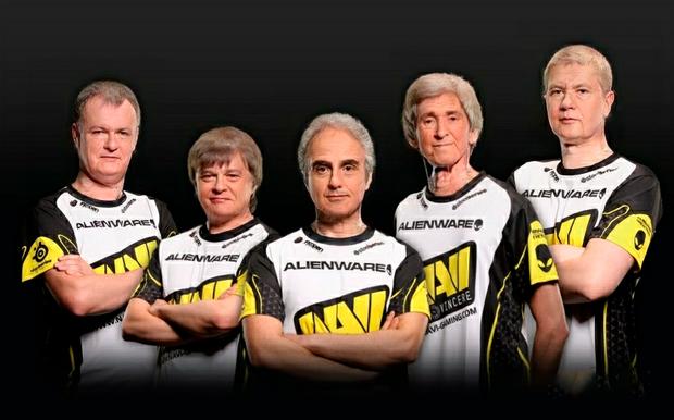 Không thể nhịn cười với trào lưu chế ảnh sau 50 năm của cộng đồng Dota 2 cho những đội tuyển tham dự TI9 - Ảnh 5.