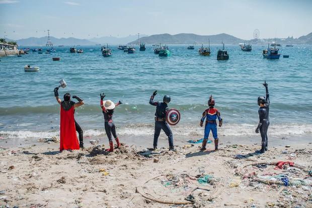"""Hành trình ý nghĩa của nhóm """"siêu anh hùng"""" dọn sạch rác nhựa trên bờ biển - Ảnh 11."""