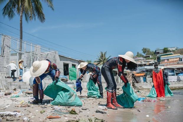 """Hành trình ý nghĩa của nhóm """"siêu anh hùng"""" dọn sạch rác nhựa trên bờ biển - Ảnh 13."""
