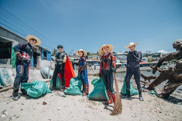 """Hành trình ý nghĩa của nhóm """"siêu anh hùng"""" dọn sạch rác nhựa trên bờ biển - Ảnh 14."""