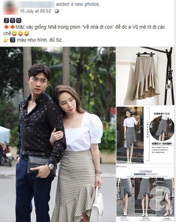 Mẫu váy của Nhã (Về Nhà Đi Con) được hội bán hàng online thi nhau rao, nhưng dân tình lại quyết tẩy chay và gọi là váy tiểu tam - Ảnh 5.