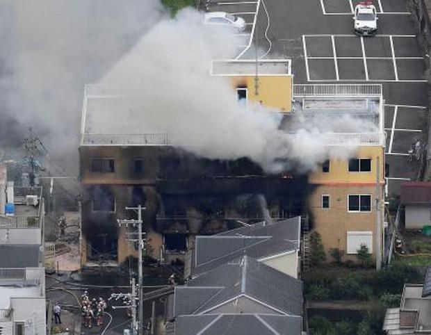 Đám cháy khốc liệt tước mạng sống hàng loạt họa sĩ anime thiên tài tại Nhật Bản - Ảnh 2.