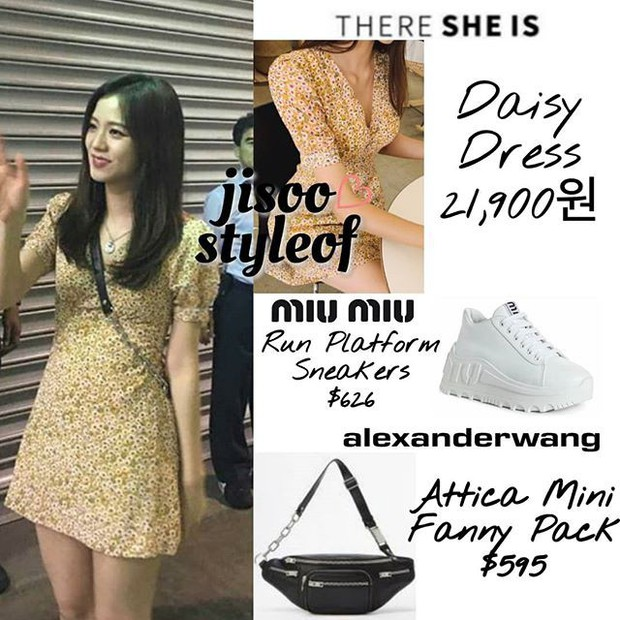 Hồn nhiên khoe mình mặc đồ đôi với Jisoo, mỗi tội chiếc váy mà Sun HT diện là... đồ nhái - Ảnh 3.