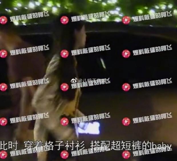 Hình ảnh sốt dẻo nhất Weibo: Angela Baby nửa đêm một mình về nhà, Huỳnh Hiểu Minh sủng đến mức để cửa chờ vợ - Ảnh 2.
