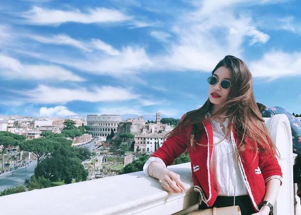 Vóc Đỗ - bạn gái hậu vệ CLB Hà Nội gây chiến với Văn Thanh: Nhận mình thuộc hàng top khi du học thạc sĩ ở Anh, sang chảnh như rich kid - Ảnh 4.