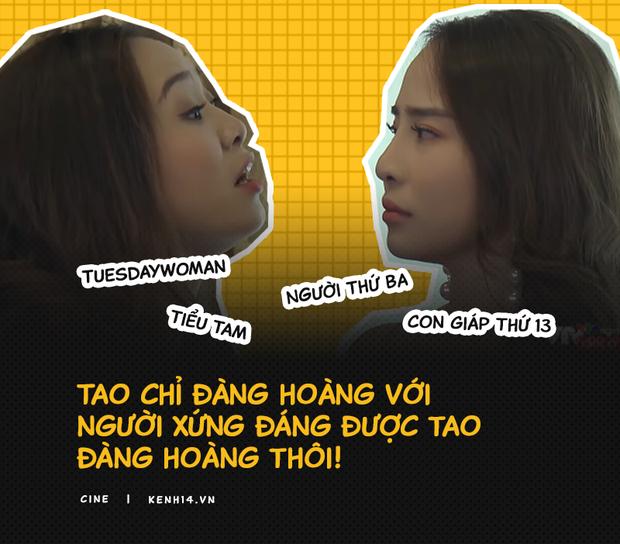 Chửi Tuesday liên tục 3 phút 35s, thốt ra tổng cộng hơn 400 từ: Chị Linh chứng minh khi phụ nữ đã sôi máu thì rapper cũng phải chào thua - Ảnh 3.