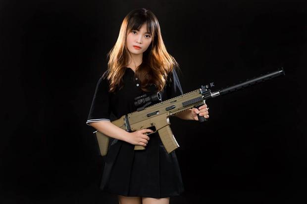 Ấn tượng với nhan sắc xinh đẹp của các cô gái RM5S Dark: Đội nữ duy nhất tham gia giải PUBG Firstblood Divine League - Ảnh 10.