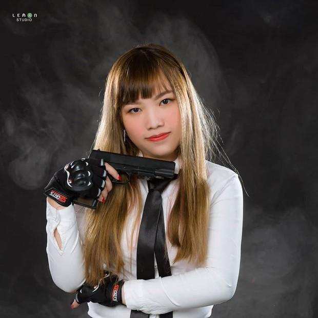 Ấn tượng với nhan sắc xinh đẹp của các cô gái RM5S Dark: Đội nữ duy nhất tham gia giải PUBG Firstblood Divine League - Ảnh 14.