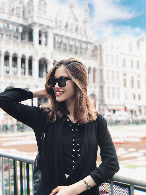Vóc Đỗ - bạn gái hậu vệ CLB Hà Nội gây chiến với Văn Thanh: Nhận mình thuộc hàng top khi du học thạc sĩ ở Anh, sang chảnh như rich kid - Ảnh 5.