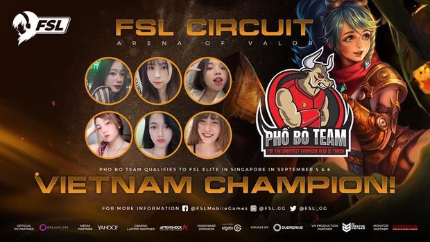 Các cô gái xinh đẹp Phố Bò Team giành quyền đại diện Việt Nam tham gia FSL Elite Liên Quân Mobile tại Singapore - Ảnh 3.