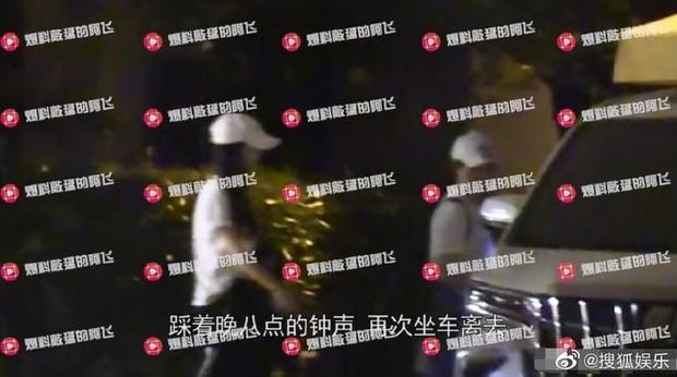 Hình ảnh sốt dẻo nhất Weibo: Angela Baby nửa đêm một mình về nhà, Huỳnh Hiểu Minh sủng đến mức để cửa chờ vợ - Ảnh 1.