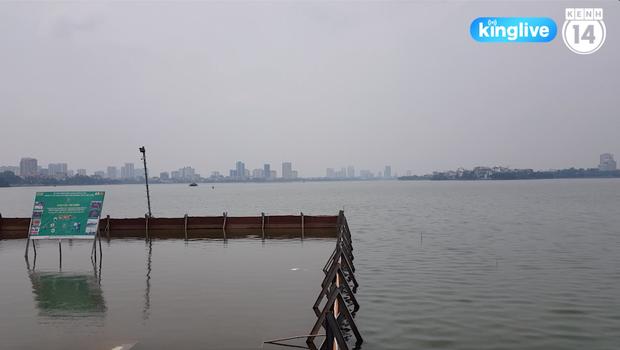 Clip: Nước hồ Tây trong xanh, nhìn thấy đáy sau 1 tháng áp dụng công nghệ Nhật Bản - Ảnh 3.