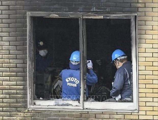 Vụ cháy xưởng phim ở Nhật Bản: Chính thức buộc tội nghi can - Ảnh 1.