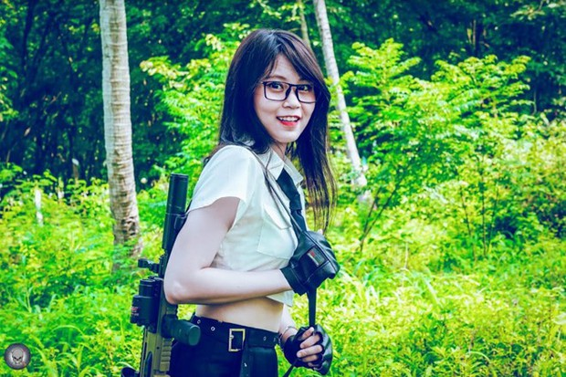 Ấn tượng với nhan sắc xinh đẹp của các cô gái RM5S Dark: Đội nữ duy nhất tham gia giải PUBG Firstblood Divine League - Ảnh 4.
