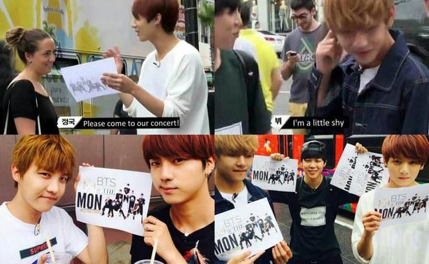 """BTS và TXT """"so kè"""" concert đầu tiên trên đất Mỹ: Nhóm phải phát tờ rơi, biểu diễn """"chùa"""", nhóm """"cháy vé"""" trong nháy mắt - Ảnh 5."""