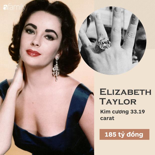Choáng cực độ với 20 chiếc nhẫn đính hôn đắt bậc nhất hành tinh, bất ngờ là nhẫn của chị em dâu Kate - Meghan - Ảnh 19.