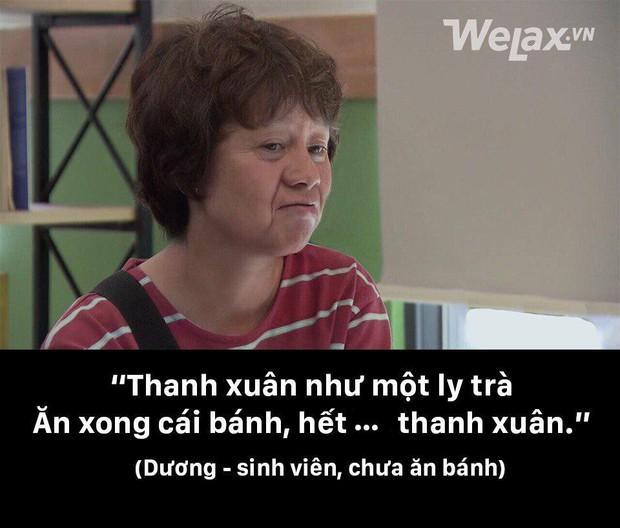 Thanh xuân như một ly trà của Dương (Về nhà đi con) thành hot trend, dân tình điên đảo áp dụng làm caption thả thính, bán hàng online - Ảnh 1.