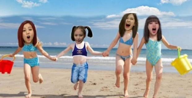 BLACKPINK mặc đồ bơi kín mít ở Hawaii chính là chúng ta mỗi khi đi biển, ước được diện bikini nóng bỏng nhưng toàn làm ngược lại - Ảnh 10.