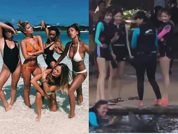 BLACKPINK mặc đồ bơi kín mít ở Hawaii chính là chúng ta mỗi khi đi biển, ước được diện bikini nóng bỏng nhưng toàn làm ngược lại - Ảnh 11.