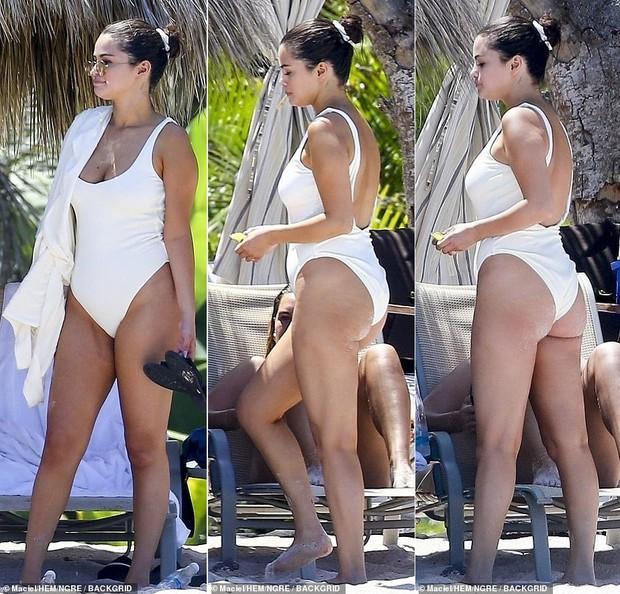 Đẫy đà thì đã sao, Selena Gomez vẫn sexy ná thở trong bộ đồ bơi có giá gây bất ngờ - Ảnh 1.