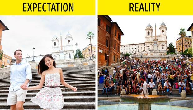 12 địa điểm du lịch nổi tiếng thế giới với ảnh trên mạng và đời thực khác nhau một trời một vực - Ảnh 1.