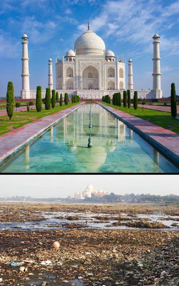 12 địa điểm du lịch nổi tiếng thế giới với ảnh trên mạng và đời thực khác nhau một trời một vực - Ảnh 12.
