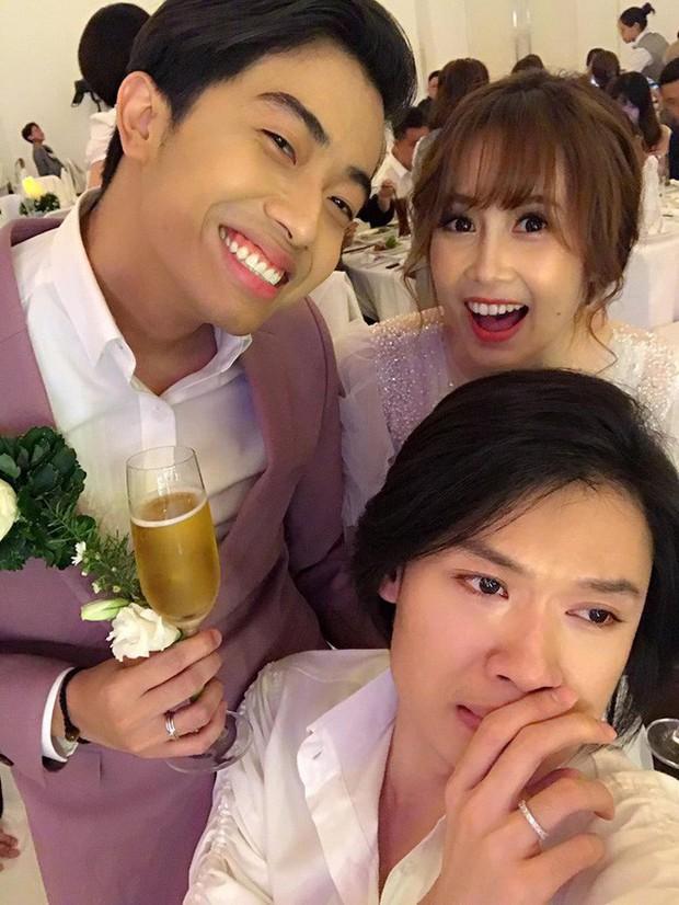 Phũ đẹp Quang Trung đi cưới vợ, Cris Phan bỗng trổ bóng trong phim mới của miss thất tình Nam Em - Ảnh 8.