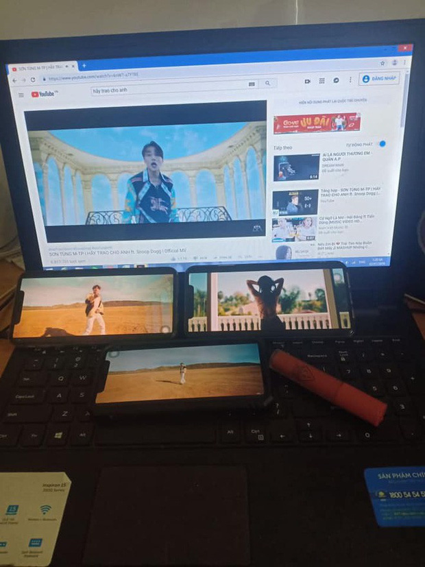 Vẫn là đẳng cấp fan Sơn Tùng: Lôi hết điện thoại máy tính ra cày view cho sếp bất chấp ngày đêm - Ảnh 13.