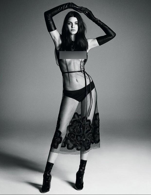 """Mỹ nhân đẹp mảnh mai phá vỡ tiêu chuẩn """"phồn thực"""" Kendall Jenner: Body như tạc, bảo sao hay nude 100% - Ảnh 7."""