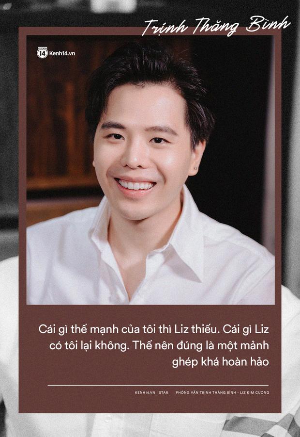 """Trịnh Thăng Bình - Liz Kim Cương: """"Chúng tôi như tri kỷ, là mảnh ghép hoàn hảo dành cho nhau"""" - Ảnh 6."""